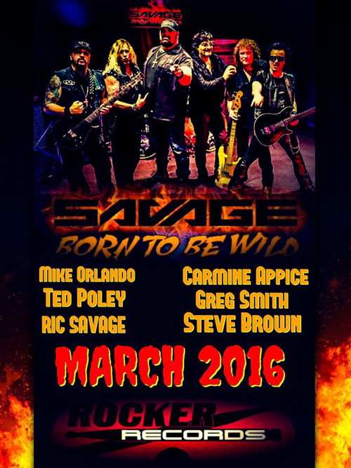 Ric Savage / Gone To Be Wild : March 2016