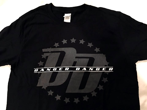 New Danger Danger T-Shirt - Front