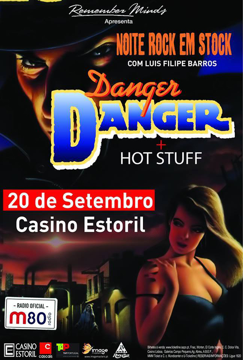 """Danger Danger in Estoril 2014"" Poster"