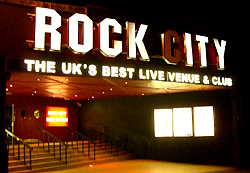 Rock City in Nottingham, UK