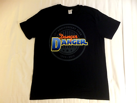 Danger Danger at Frontiers Rock Festival 2014 in Milan, Italy : Front of New D2 T-Shirt!!!