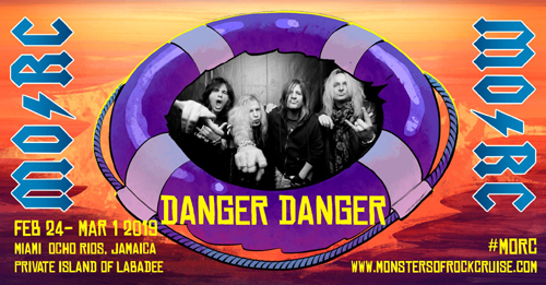 Danger Danger : Monsters Of Rock Cruise 2019