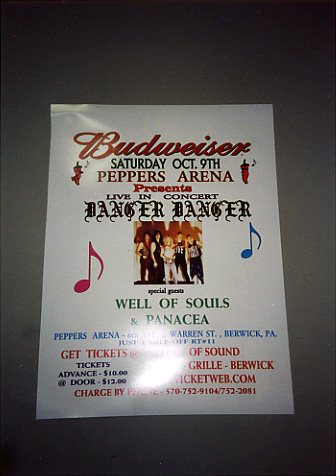 Berwick, PA Pic #3 : Peppers' D2 show Poster