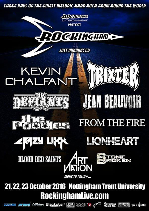 Rockingham 2016 - May 14 Announce