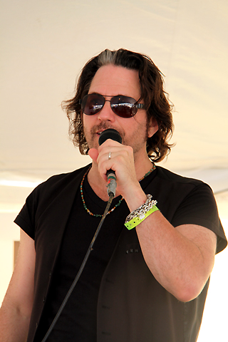 Rocklahoma 2009 Pic #46 : Kip Winger at Night Ranger's Press Conference