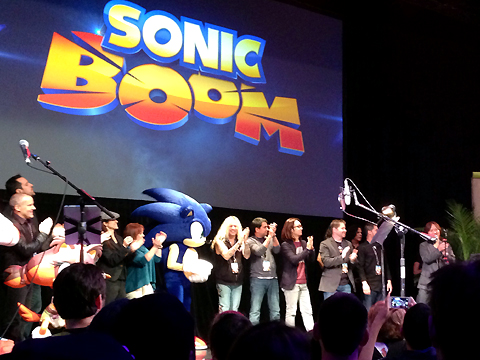 Ted at Sonic Boom 2014 Fan Event #5