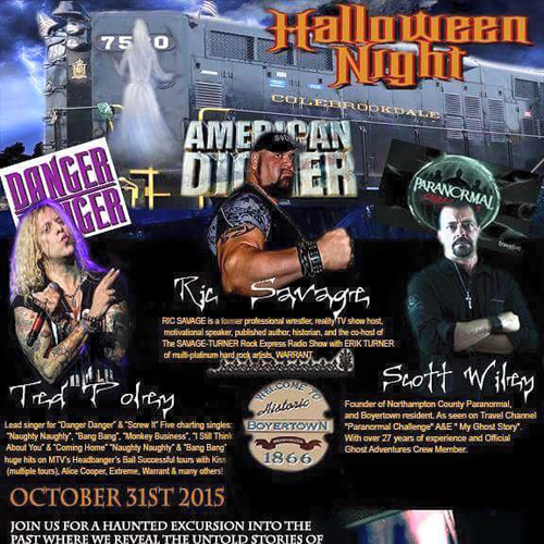 Ted Poley's Halloween Event 2015