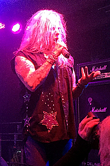 Ted Poley at Rock Weekend AOR 2016 in Stockholm Sweden #3