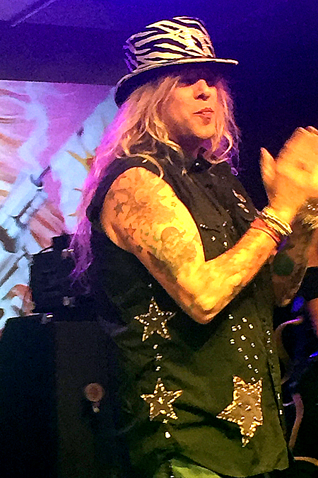 Ted Poley at Rock Weekend AOR 2016 in Stockholm Sweden #1
