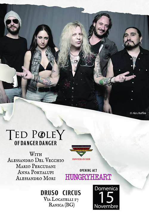Ted Poley in Italy, Nov. 15, 2015 - Poster