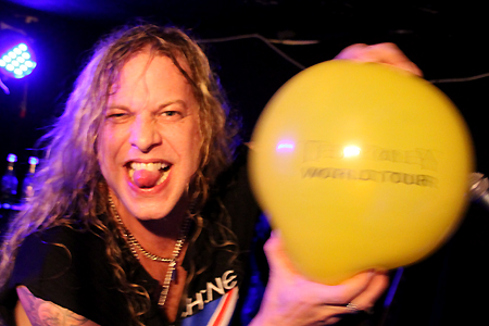 Ted Poley Band Scandinavian Tour 2011 #12