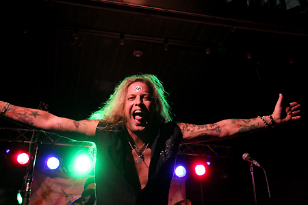 Ted Poley Band Scandinavian Tour 2011 #4