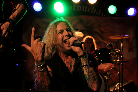 Ted Poley Band Scandinavian Tour 2011 #1