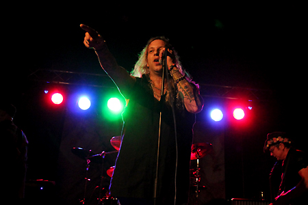 Ted Poley Band Scandinavian Tour 2011 #2