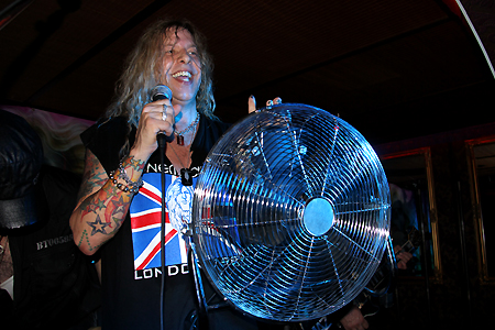 Ted Poley Band Europe Tour 2012 #7