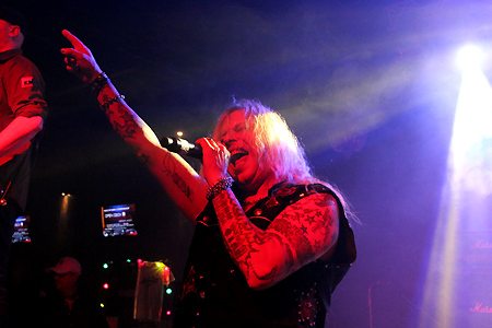 Ted Poley Band Live at MelodicRockFest 3 #1
