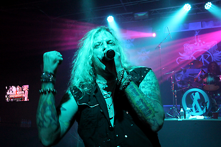 Ted Poley Band Live at MelodicRockFest 3 #2