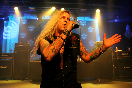Ted Poley Band Live at MelodicRockFest 3 #6