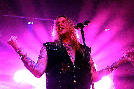 Ted Poley Band Live at MelodicRockFest 3 #11
