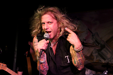 Ted Poley Band Europe Tour 2012 #11