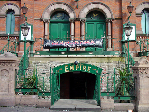 The Belfast Empire Music Hall in Belfast