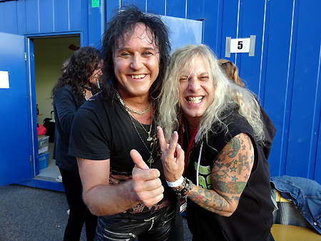 Danger Danger at Vasby Rock Festival 2015 in Upplands Vasby, Sweden #4 : Ted & Glam