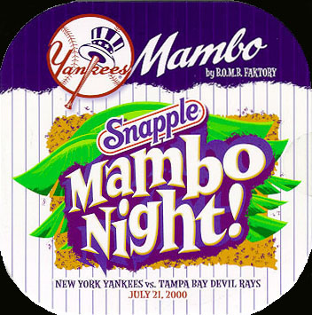 Yankee Mambo : Snapple Version - Front